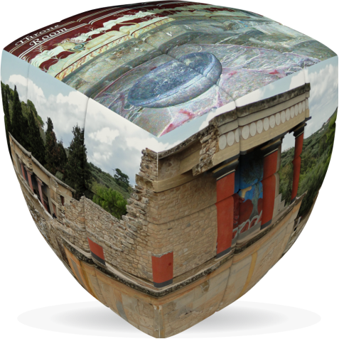 Knossos- V-CUBE 3 pillow