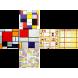 Mondrian - V-CUBE 3 Flat
