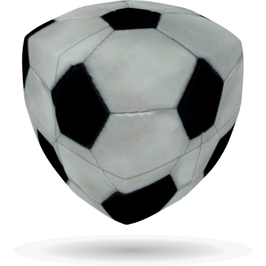 Football - V-CUBE 2 Pillow