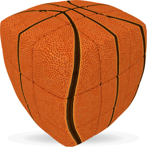 Basketball - V-CUBE 3 Pillow