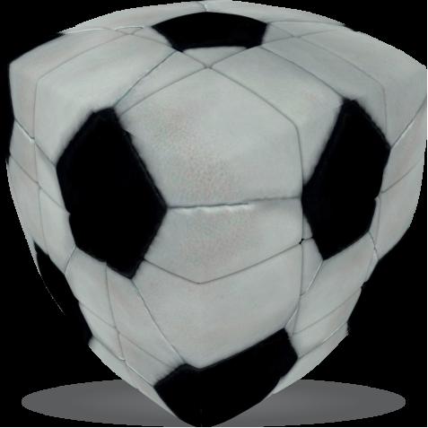 Football - V-CUBE 3 Pillow