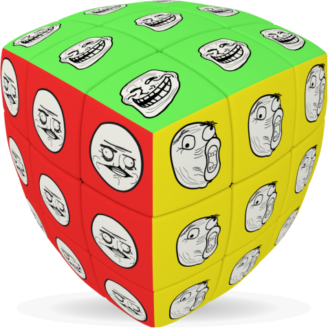 Meme - V-CUBE 3 Pillow