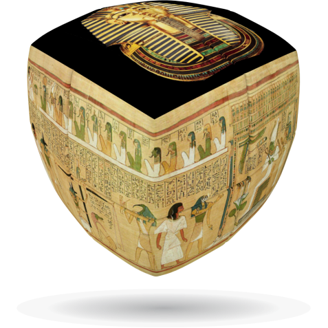 Egypt-Giza - V-CUBE 2 pillow