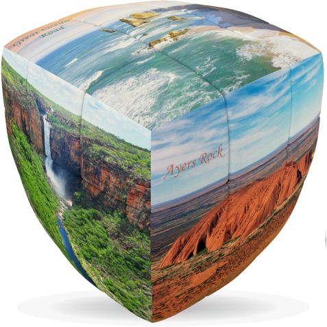 Australian Nature - V-CUBE 3 Pillow