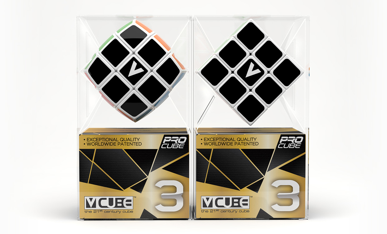 V-CUBE™ 3 the CleVer Cube - V-Classics Three layered 3x3x3 smooth rotation Cube