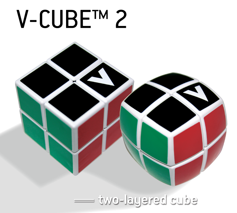 V-CUBE™ 2 - V-Classics  Two-Layered 2x2x2 smooth rotation Cube