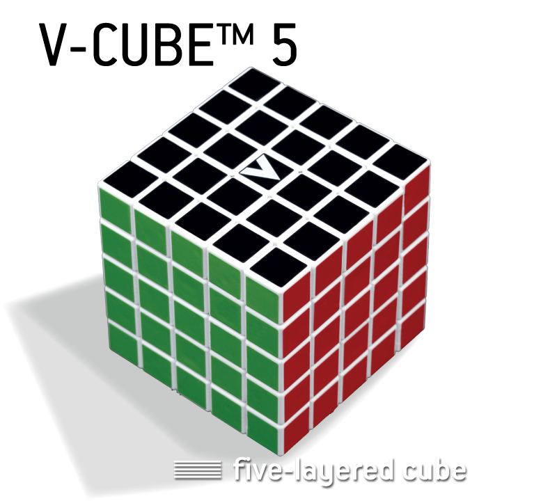V-CUBE™ 5 is the sturdiest five-layered cube available in the market - V-Classics  Five-Layered 5x5x5 smooth rotation Cube - V-Classics  Five-Layered 5x5x5 smooth rotation Cube