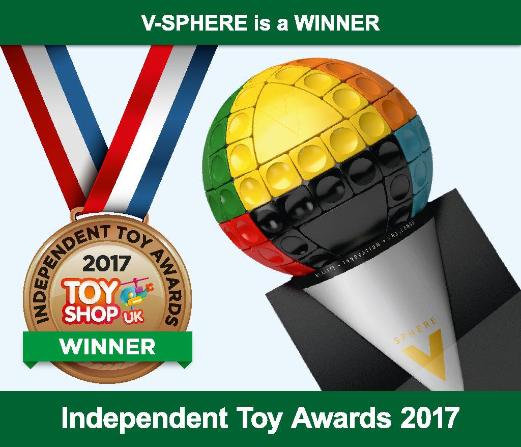 V-Sphere™ 2017 Independent Toy award