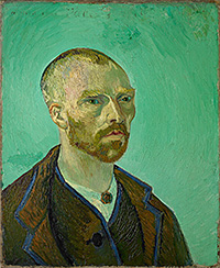 Vincent Van Gogh, Self-Portrait dedicated to Gauguin, 1888