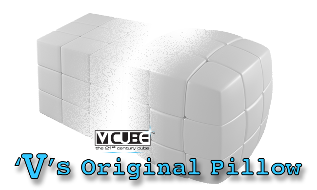 V-CUBE the Original Pillow cube
